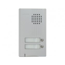 Aiphone DA-2DS 2-Call Da Series Door Station, Silver
