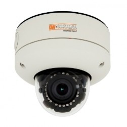 Digital Watchdog DWC-V4363TIR Star-Light Outdoor Vandal-Resistant True Day/Night Dome Camera, 3.3-12mm Lens