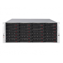 Digital Watchdog DW-BJER4U80T-LX 128 Channels Blackjack E-Rack Linux 4U Network Video Recorder, 80TB