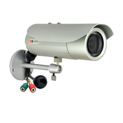 ACTi E42B 3Mp Outdoor Adaptive IR Network Vandal Bullet Camera