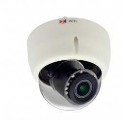ACTi E621 1.3MP Day/Night Vandal-Resistant Indoor IP Dome Camera
