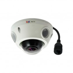 ACTi E927 10MP Mini Fisheye Outdoor Dome Camera