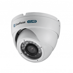 Everfocus EBD935FW 1080p Outdoor IR Vandal Dome, White
