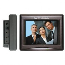 EverFocus EN-200 5.6-Inch LCD Monitor with AC Power Supply - REFURBISHED
