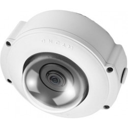 Pelco EVO-12NMD 12 Megapixel Outdoor 360-Degree Surface Mount Network Camera, White