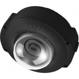 Pelco EVO-12NND 12 Megapixel Outdoor 360-Degree Surface Mount Network Camera, Black