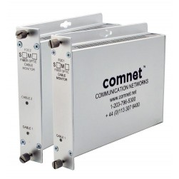Comnet FDC2M Two Channel Fiber Optic Cable Break Monitor