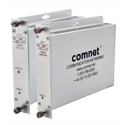 Comnet FDC2S Two Channel Fiber Optic Cable Break Monitor