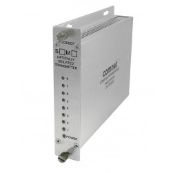 Comnet FDC8NLRM1 8-Channel Contact Closure Non-Latching Receiver