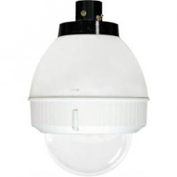 Videolarm FDP75C8N PoE Ready 7in Outdoor dome Hsg Pendant Mt. Clr Dome for PTZ, H/B