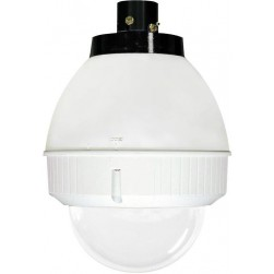 Videolarm FDP75CF8NE PoE Ready 7in Outdoor dome Hsg Pendant Mt. Clr Dome for Fixed Camera, H/B, No Midspan