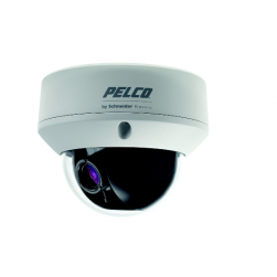 Pelco FD5-DWV22-6 650TVL NTSC WDR True Day/Night Dome Camera, 9-22mm Lens