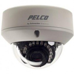 Pelco FD5-IRV10-6 650 TVL Day/Night IR Outdoor Dome Camera, 2.8-10.5mm Lens