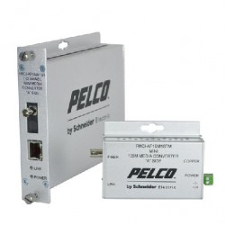 Pelco FMCI-AF1MM1ST 1 Channel Multi-Mode Fiber Media Converter-A, ST Connector