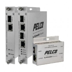 Pelco FMCI-PF1 Single Channel 10/100 Mbps IP Media Converter, Standard Size