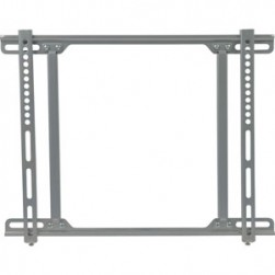 Video Mount Products FP-MF Mid-Size Flat Panel Flush Mount, 27-inch to 42-inch, Silver Finish