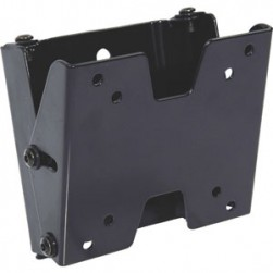 Video Mount Products FP-SFTB Small Flsh Mt Tilt, 10-23in, Black