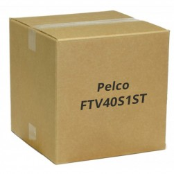 Pelco FTV40S1ST 4 Channel Video Fiber Transmitter ST Connector, Single Mode