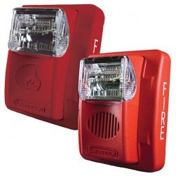 Bosch GES3-12WR 12VDC Strobe Unit - Red