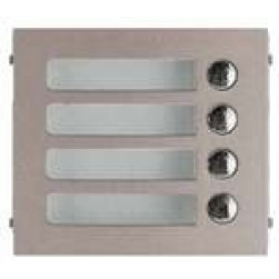 Aiphone GF-4P 4-Call Panel For Gf-Sw Or Gh-Sw