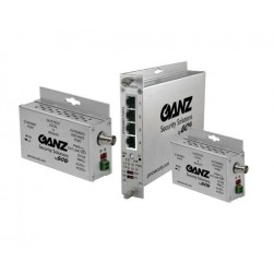 Ganz GLFE1EOC 1-Ch 15W Ethernet over COAX Extender w/Pass-Through PoE