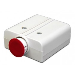 United Security Products HUB2A-ES Hold Up Button - Latching, DPDT, 3 Screw, 3 Solder Terms, w/emergency external activator