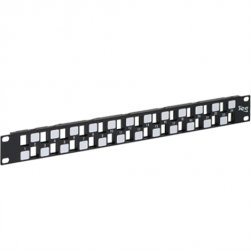 ICC IC107BE241 24-Port EZ Blank Patch Panel