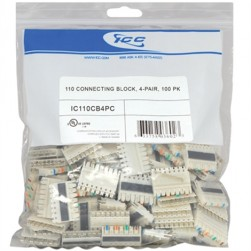 ICC IC110CB4PC 4-Pair 110 Connecting Block 100 Pk