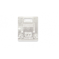 ICC ICACSDCICL Dust Cover Insert Clear 10 pcs/bag
