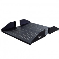 "ICC ICCMSRDV20 20"", 2 RMS Vented Double Rack Shelf"