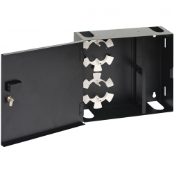 ICC ICFODE41WM Fiber Optic Wall Mount Enclosure 4-Panel