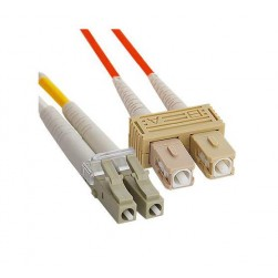 ICC ICFOJ2M301 LC-SC 1M 62.5/125 m OM1 MM Duplex Fiber Optic Jumper
