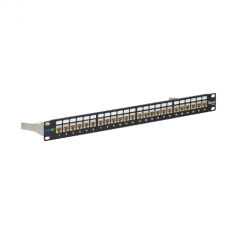 ICC ICMPP246AS 24-Port CAT 6A FTP Shielded Patch Panel
