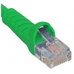ICC ICPCSJ10GN Molded Boot Patch Cord, Green, 10 Ft.