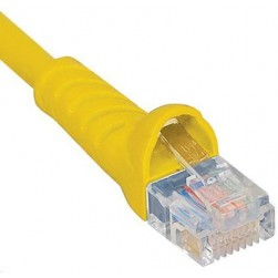 ICC ICPCSK05YL Cat 6 Patch Cord, Yellow, 5 Ft.