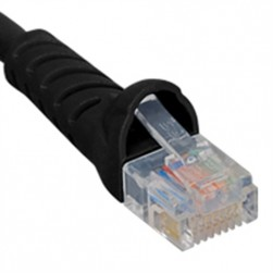 ICC ICPCSK10BK Category 6 Molded Boot Patch Cord