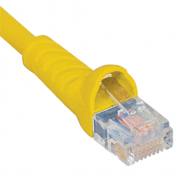 ICC ICPCSK10YL Cat 6 Patch Cord, Yellow, 10 Ft.