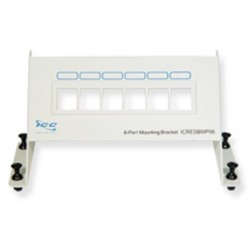 ICC ICRESBMP06 6-Port Blank Resi Mounting Panel