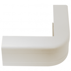 "ICC ICRW12OCWH 1 1/4"" Outside Corner Cover - White"