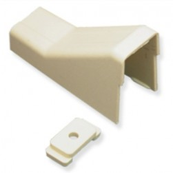 "ICC ICRW13CEIV 1 3/4"" Ceiling Entry & Mounting Clip - Ivory 10Pk"