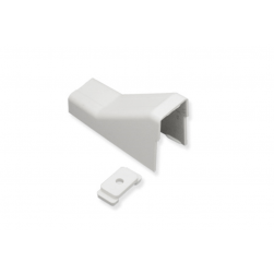 "ICC ICRW44CMWH 1 3/4"" Ceiling Entry & Mounting Clip - White"