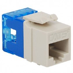 ICC IC1078F5WH HD CAT 5e Keystone Jack, White