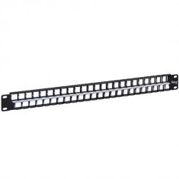 ICC IC107BP481 48-Port HD Flush Mount Blank Patch Panel, 1 RMS