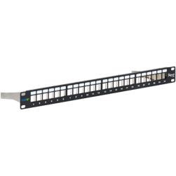 ICC IC107PPS6A 24-Port CAT 6A Blank Patch Panel