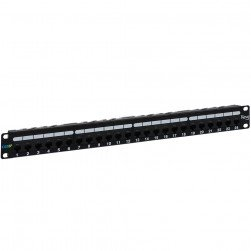ICC ICMPP0246B 24-Port CAT 6A 1 Rack Mount Space Patch Panel