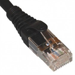 ICC ICPCSG25BK Category 6A FTP Patch Cord 25-Feet Black