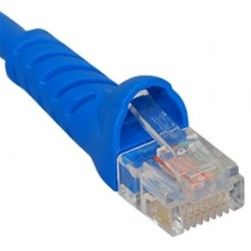ICC ICPCSJ25BL Molded Boot Patch Cord, Blue, 25 Ft.