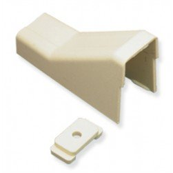 """ICC ICRW33CMIV 1 1/4"""" Ceiling Entry & Mounting Clip - Ivory"""