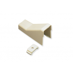 """ICC ICRW44CMIV 1 3/4"""" Ceiling Entry & Mounting Clip - Ivory"""