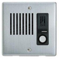 Aiphone IE-JA Flush Mount Door Station, Stainless Steel Cover